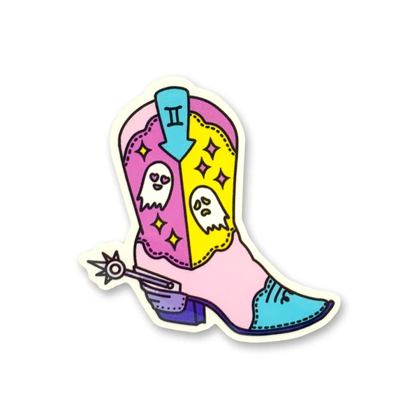 ZODIAC BOOT STICKER