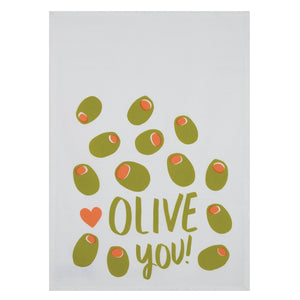 OLIVE YOU KITCHEN TOWEL SET