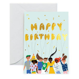 TOMODACHI BIRTHDAY CARD