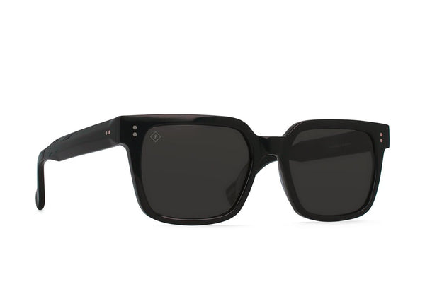 RAEN WEST CRYSTAL BLACK SUNGLASSES