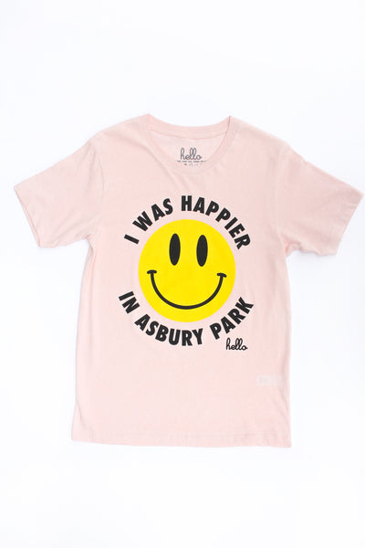 HAPPIER IN AP TEE