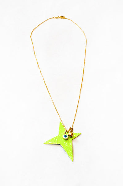 AMULET LEATHER STAR NECKLACES