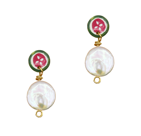 SUSAN ALEXANDRA PEARLY SANDIA EARRINGS