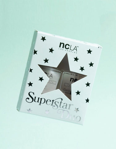SUPERSTAR TOP + BASE NAIL POLISH DUO