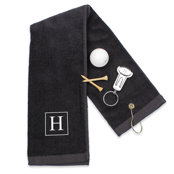 Golf Set : Towel, Divot Repair Tool & Ball Mark