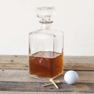 Golf Glass Decanter