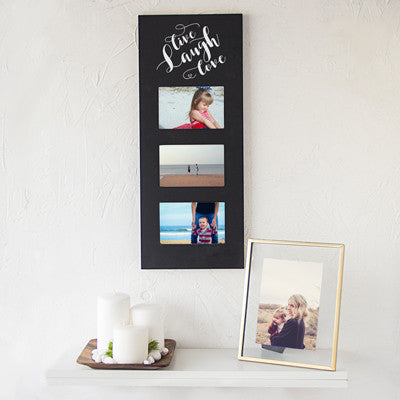 Live Laugh Love Multi Photo Frame