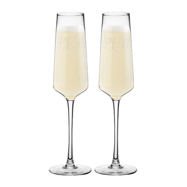 Champagne Estate Glasses Set of 2