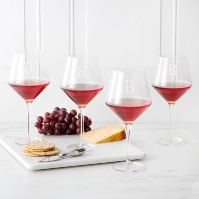 Red Wine Estate Glasses Set of 4