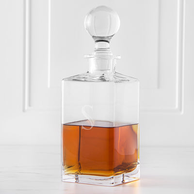 Square Whiskey Decanter