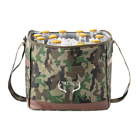 12 Pack Camo Cooler