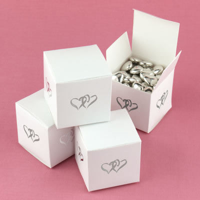 Linked at the Heart Favor Boxes