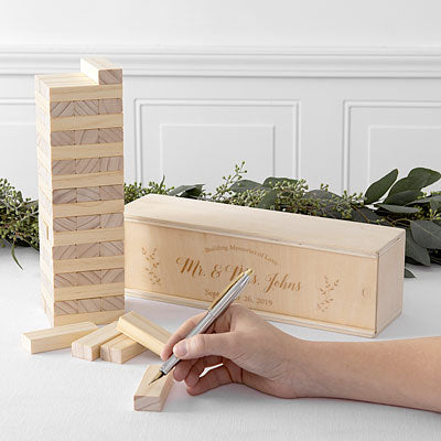 Building Block Wedding Guestbook