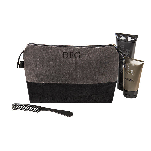 Two Toned Dopp Kit