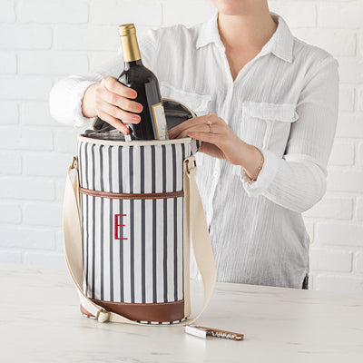 Striped Wine Cooler