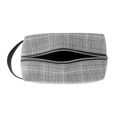 Glen Plaid Dopp Kit