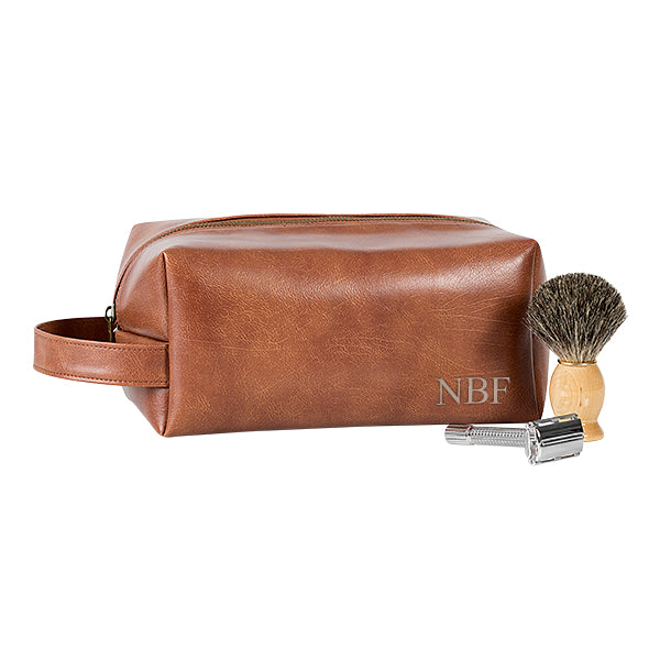 Vegan Leather Dopp Kit