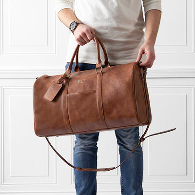Vegan Leather Transport Duffle