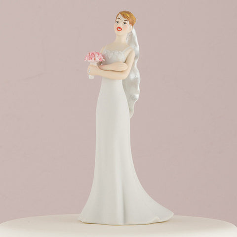 Mix & Match Exasperated Bride Wedding Cake Top