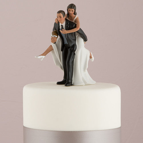 Football Wedding Cake Top