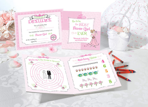 Flower Girl Keepsake Activity Set
