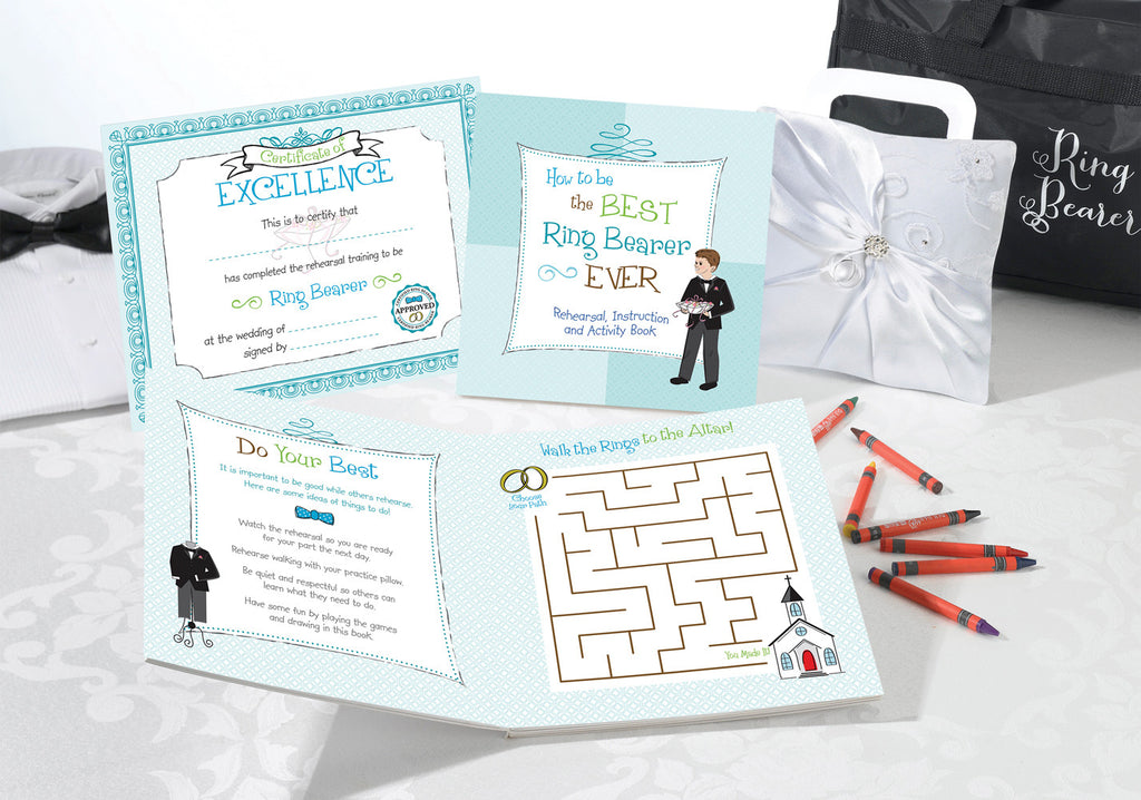 Ring Bearer Keepsake Activity Set