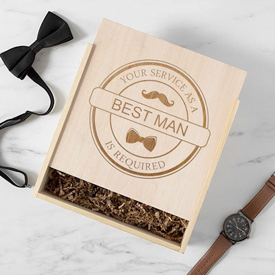 Best Man Craft Beer Gift Box