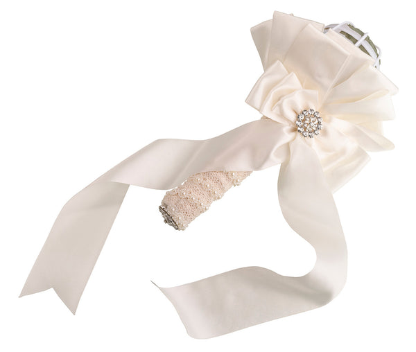 Satin Bouquet Holder