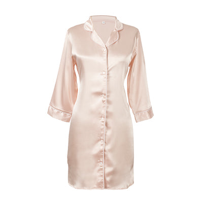 Bride Satin Night Shirt