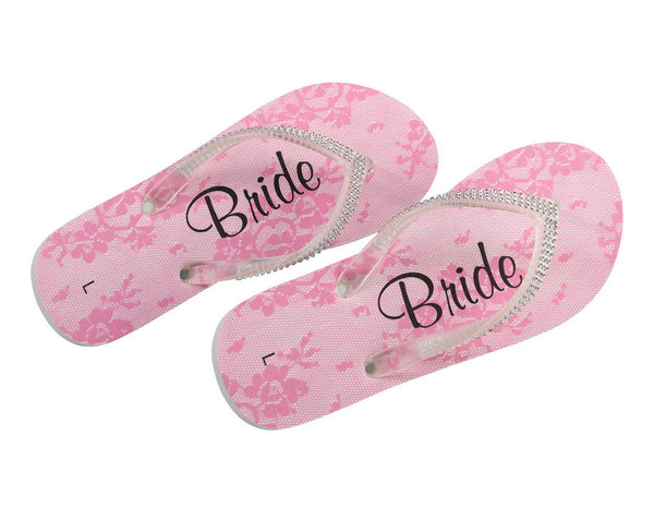 Bridesmaid Wedding Flip Flops