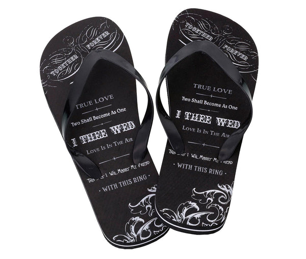 True Love Flip Flops for Men