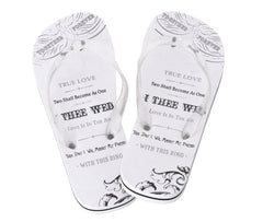 True Love Flip Flops for Women
