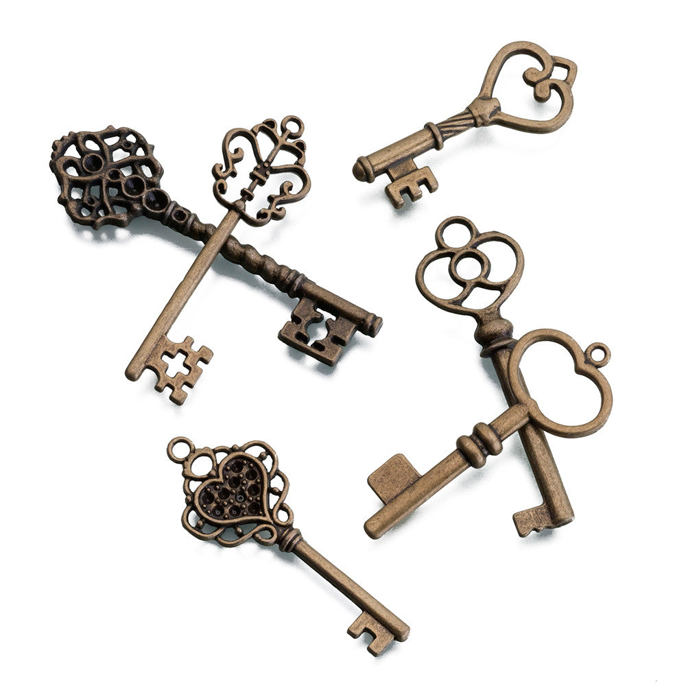 Bronze Keys (Set of 24)