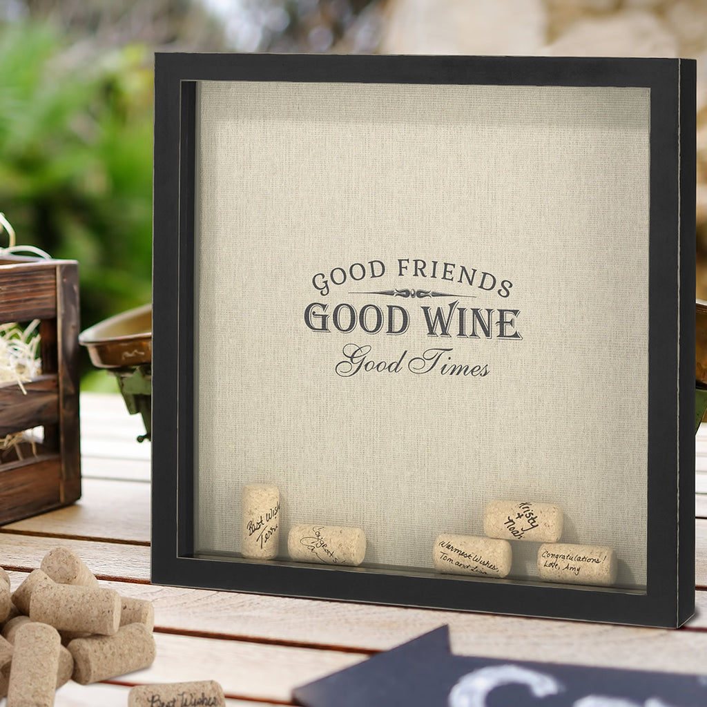Good Friends, Good Times Cork Frame