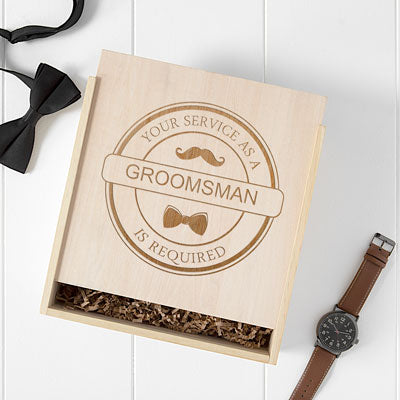 Groomsman Craft Beer Gift Box