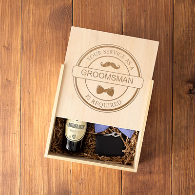 Groomsman Craft Beer Gift Box Set