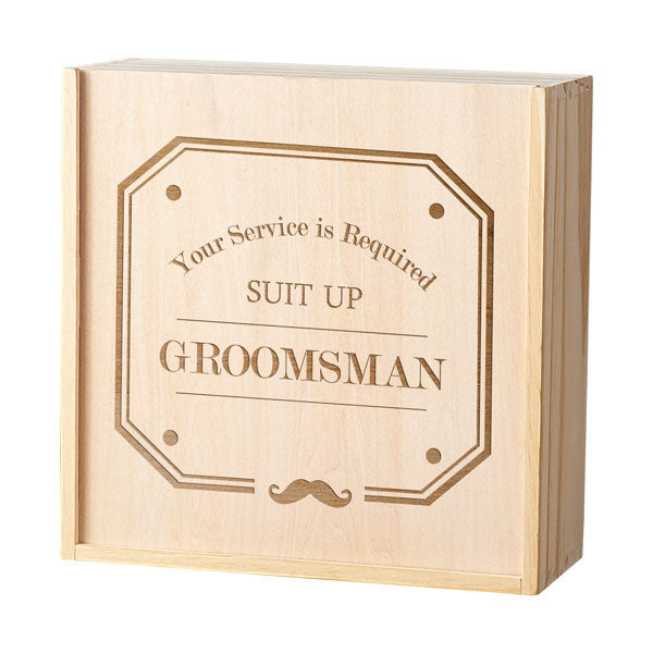 Groomsman Spirit Gift Box