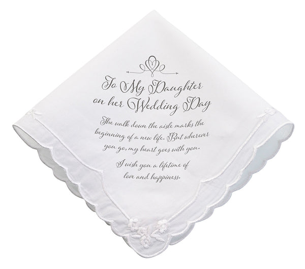 Daughter Wedding Hankie