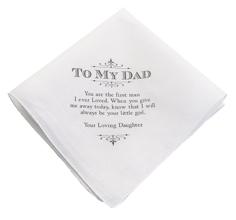 Dad Wedding Hankie