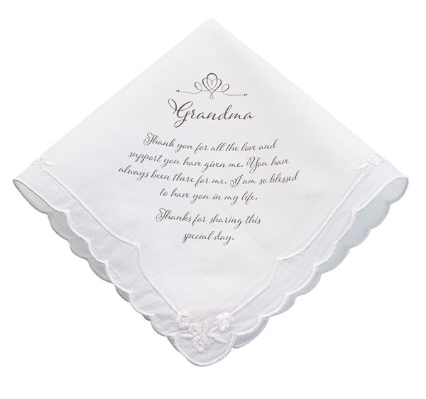 Grandma Wedding Hankie