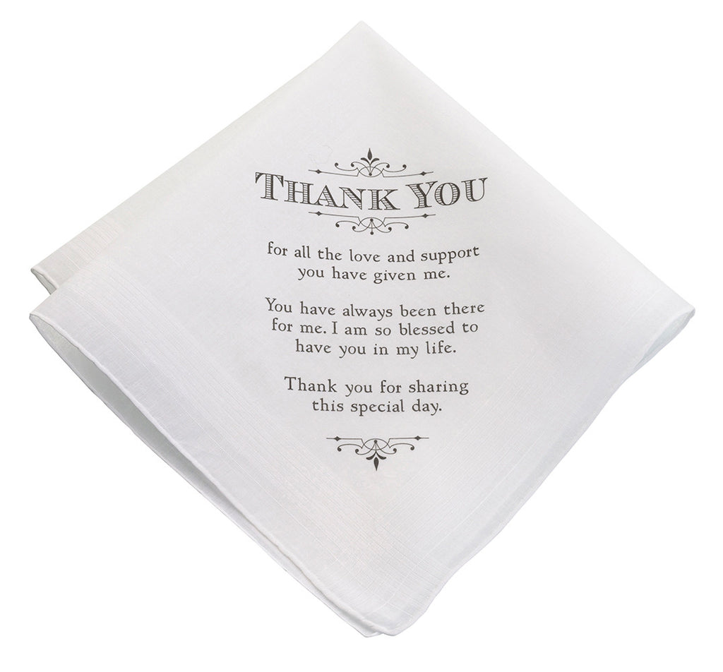 Men's Thank You Hankie