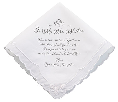 New Mom Wedding Hankie