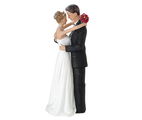 Bride & Groom Cake Top - Caucasian