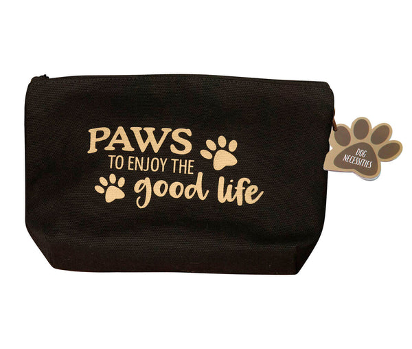 "Dog Travel Kit ""Paws to Enjoy the Good Life"""