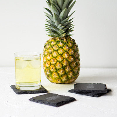 Pineapple Slate Coasters