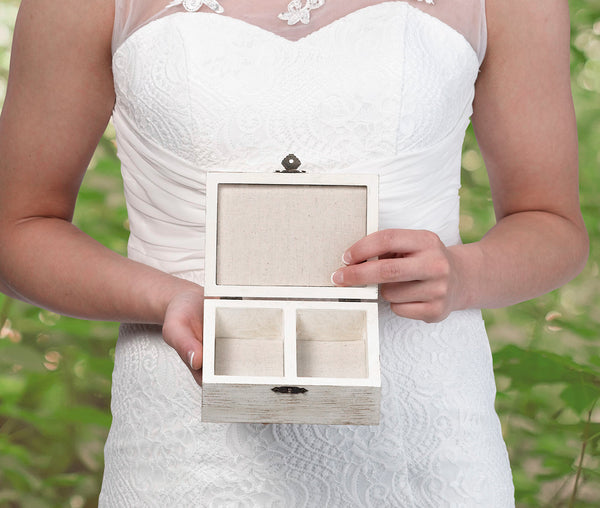 Vows Rustic Vows and Ring Box