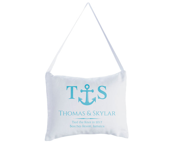 Ring Bearer Pillow - Anchor Themed