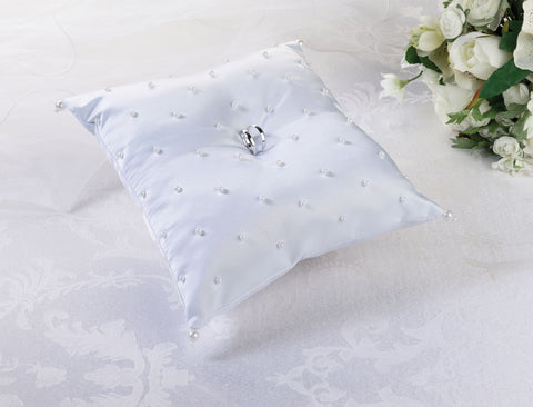 Pearl Ring Pillow
