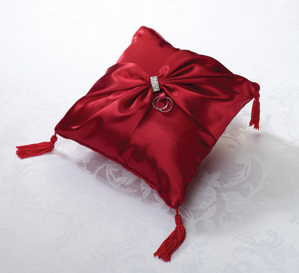 Satin Sash Ring Pillow