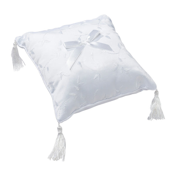 Elegant Satin Ring Pillow
